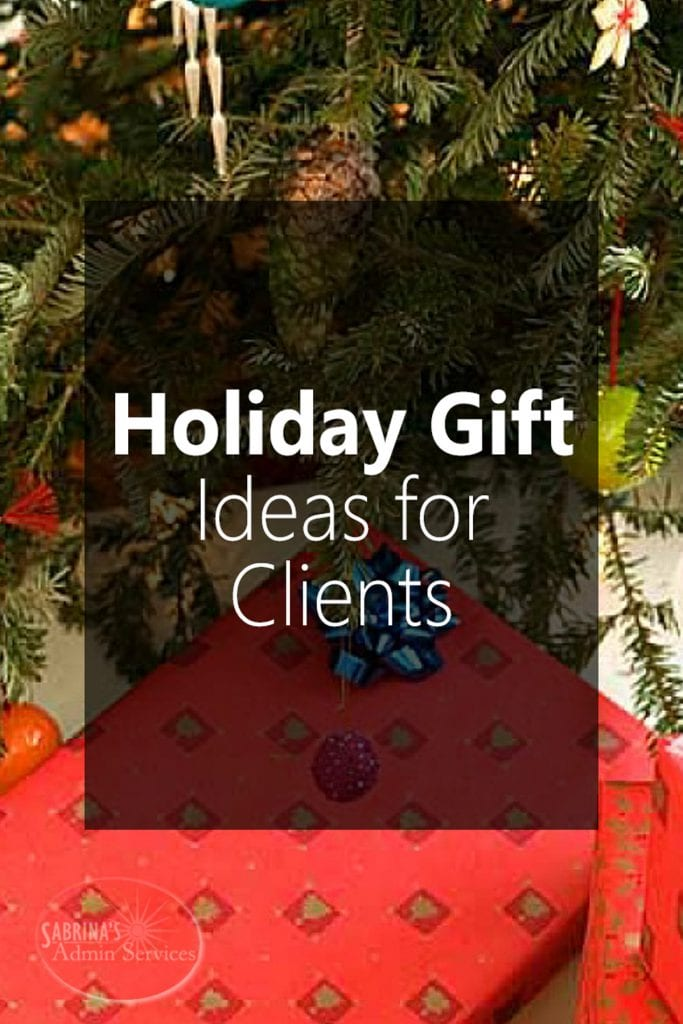 5 Favorite Holiday Gift Ideas for Clients