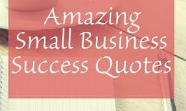 6 Amazing Small Business success quote   Sabrina's Admin Services