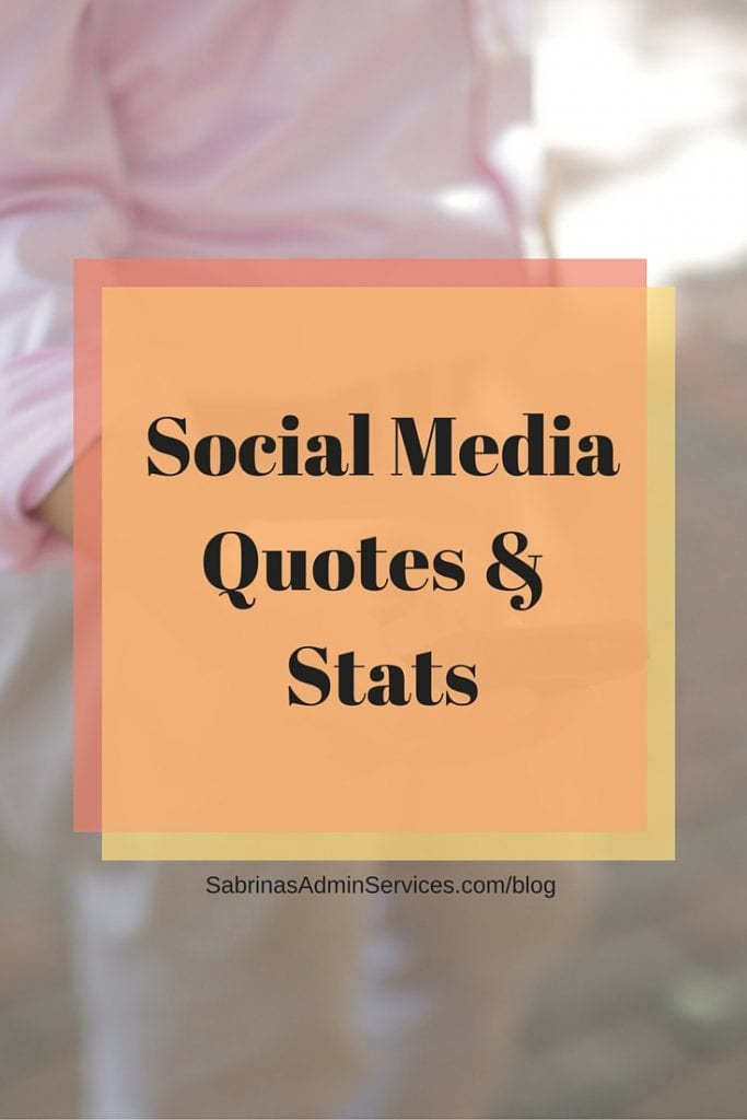 Social Media Quotes and Stats