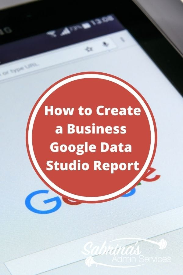 How to create a Business Google Data Studio Report featured image