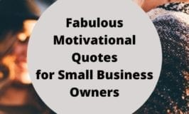 Fabulous Motivational Quotes for Small Business Owners