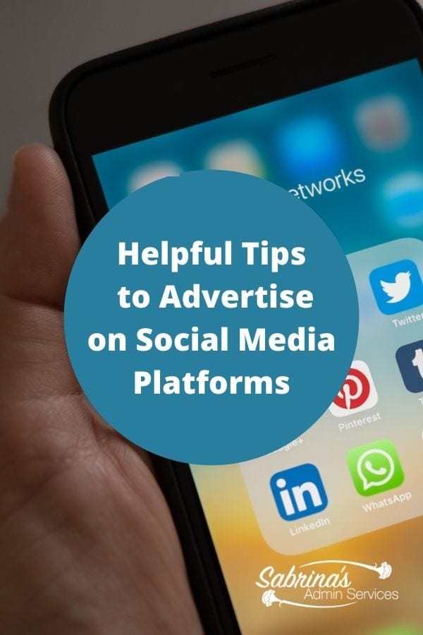 Helpful Tips to Advertise on Social Media Platforms - featured image